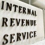 Internal Revenue Service (IRS) sign